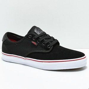 NWT Vans Chima pro black white chili skate shoes